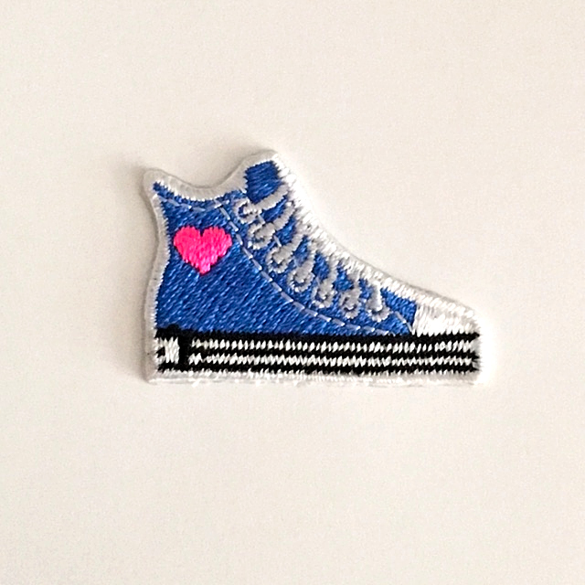 HIGH TOP SNEAKER STICK-ON FABRIC PATCH