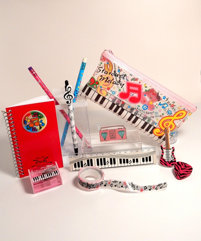 GIRLS' ROCK ON PENCIL CASE