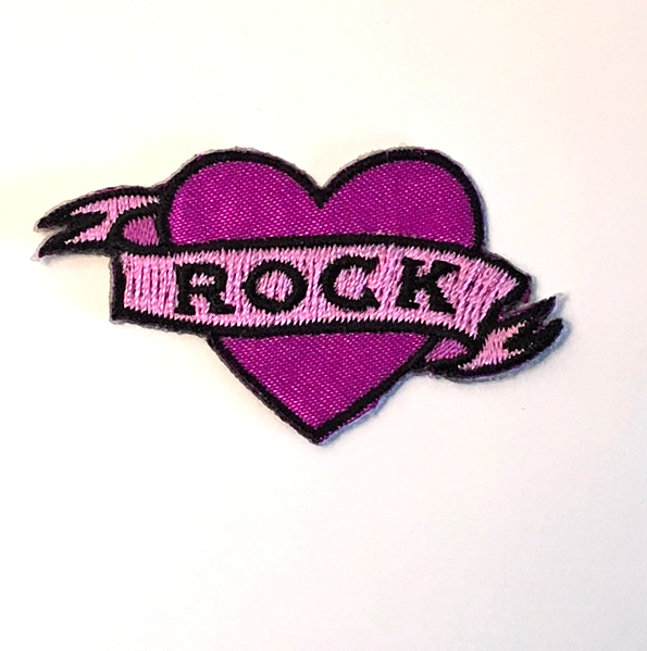 ROCK TATTOO PATCH PIN