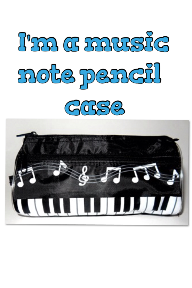 BOYS' ROCK ON PENCIL CASE