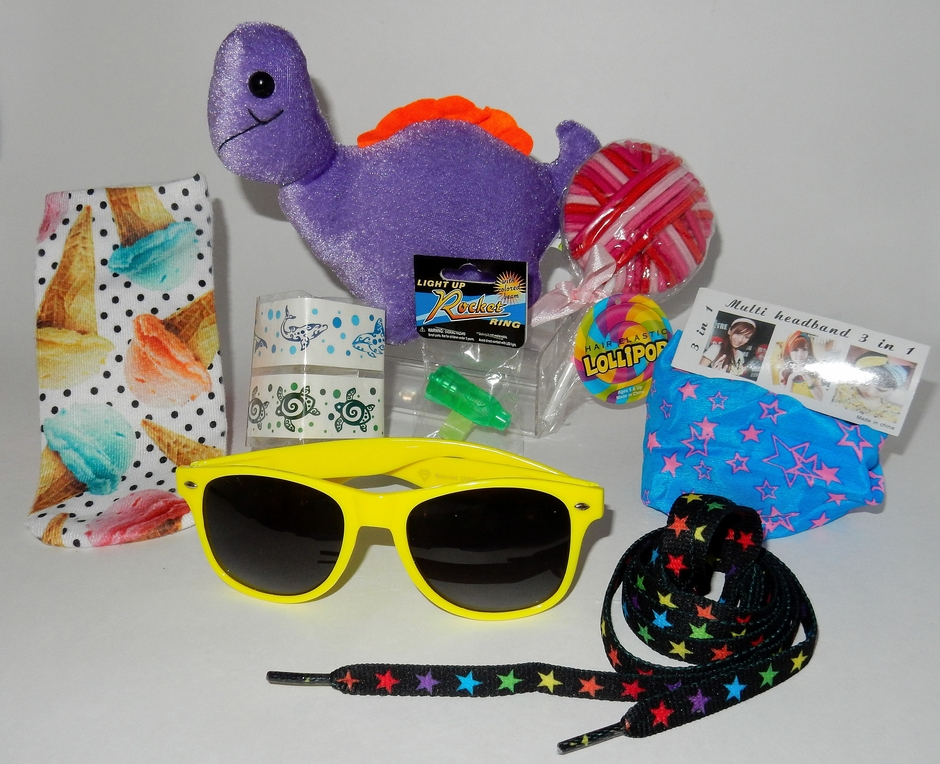 GIRLS' BUCKET OF FUN: A CUSTOMIZED CAMP CARE PACKAGE