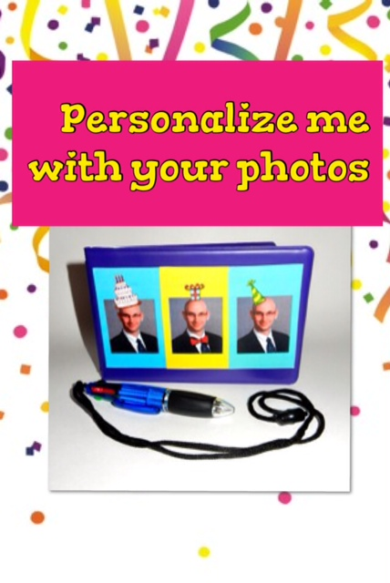 PERSONALIZED CUSTOM PHOTO AUTOGRAPH BOOK