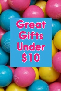 Great Gifts Under $10